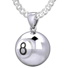 Ball Necklace In 925 Sterling Silver - 2.2mm Curb Chain