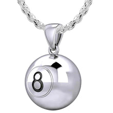 Ball Necklace In 925 Sterling Silver - 2.3mm Rope Chain