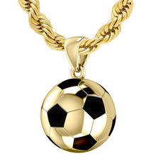 Soccer Ball Necklace - Football Pendan Necklace With Chain