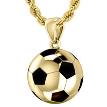 Football Necklace - Soccer Ball Pendant Necklace