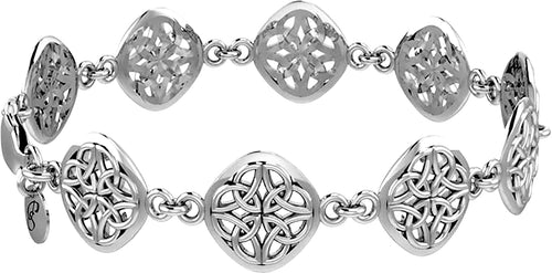 Sterling Silver Bracelet - Celtic Bracelet For Women