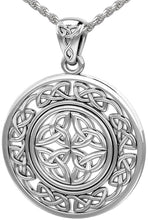 Celtic Necklace - Pendant Necklace With Irish Knotwork