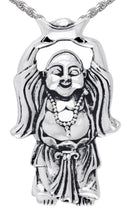 Buddha Pendant Necklace - Silver Pendant Necklace