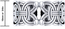Band Ring Men In 0.925 Sterling Silver - Details