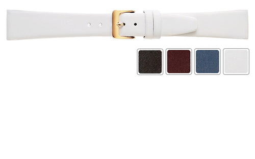 Watch Band - Calf Watch Strap Leather Band In 5 Colors