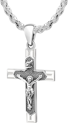 Crucifix Necklace - Pendant Necklace With Cross Pendant