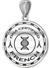 French Pendant With DNA Heritage Disc - No Chain