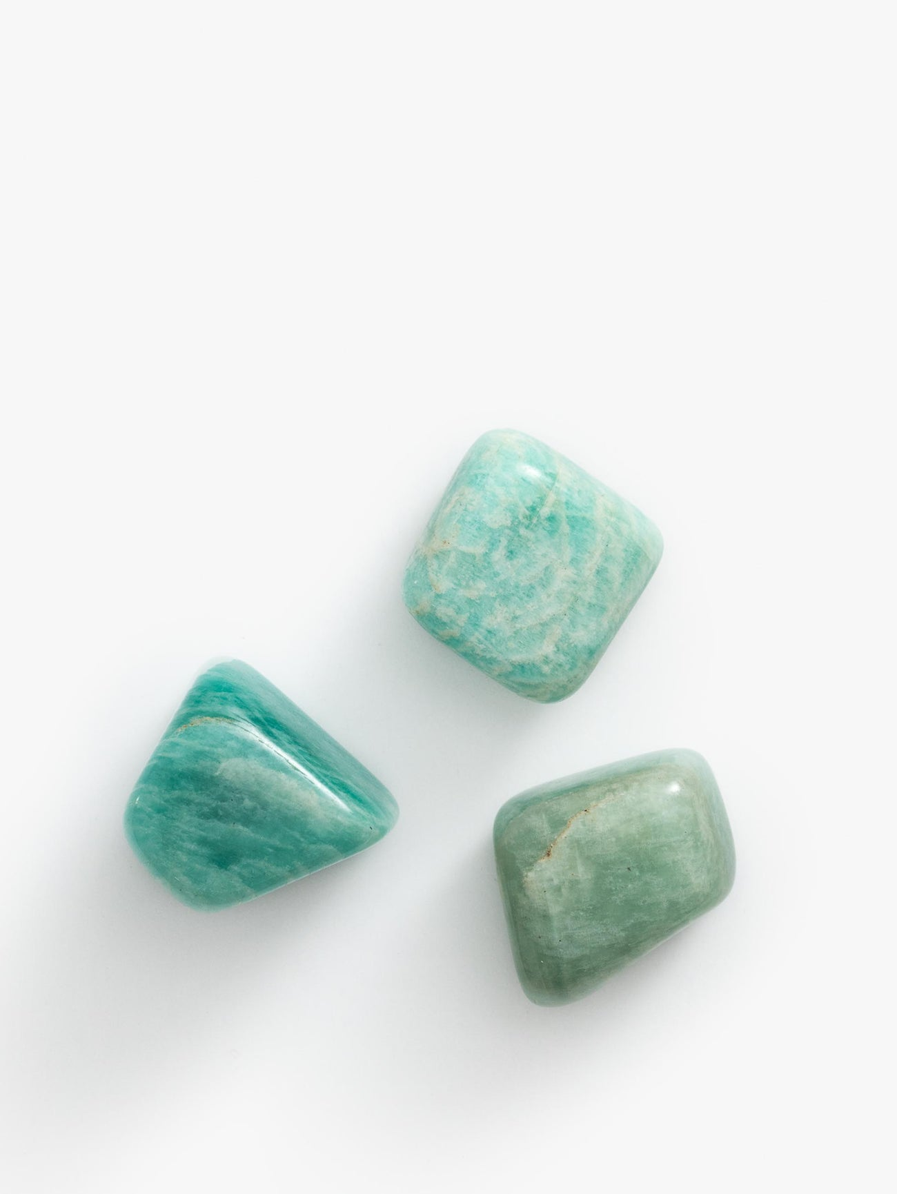 Amazonite Tumbled Single - Blue