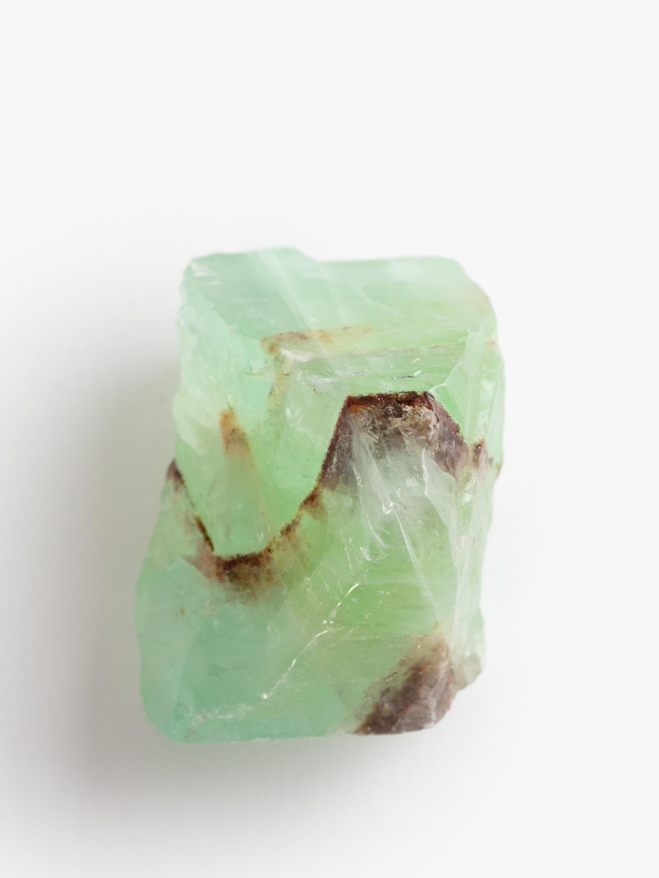 Green Calcite Chunk Single - Green