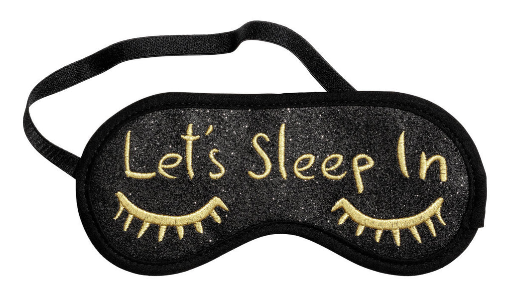 Polyester sleep mask