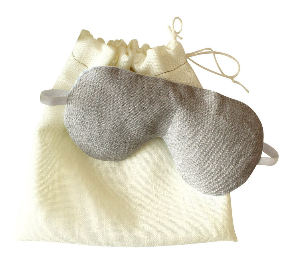 Sleep mask with carry pouch