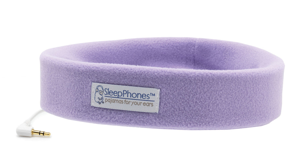 Sleep mask with headphones