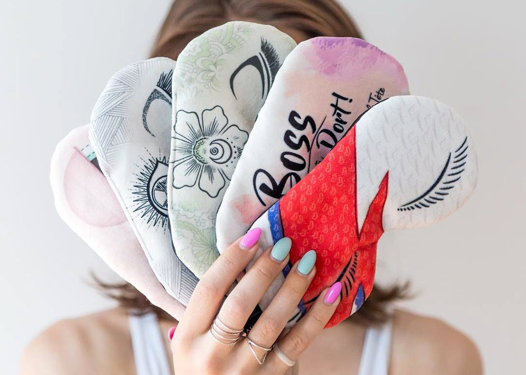Stylish sleep masks