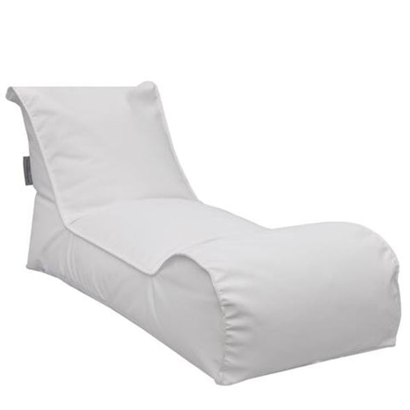 The Chillaxer Bean Bag Chair - White