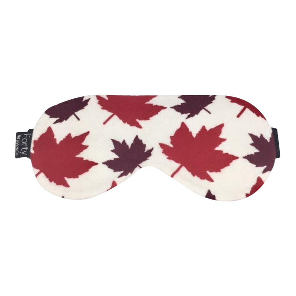 Cotton Flannel Sleep Mask - Canadiana
