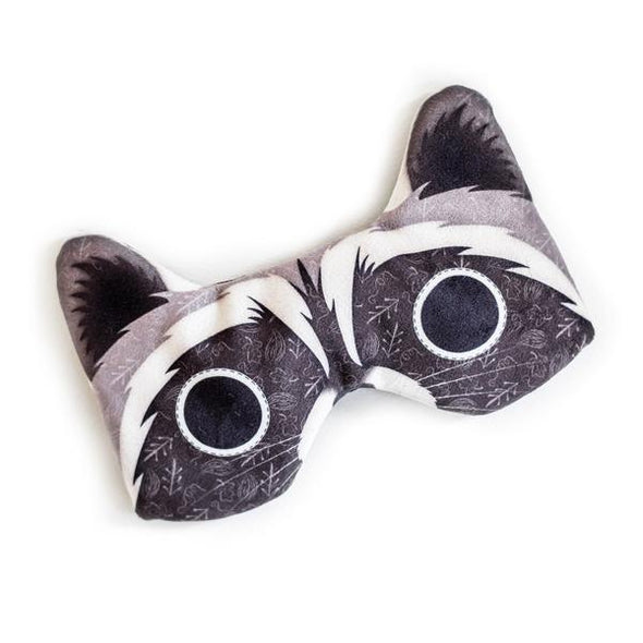Designer Satin Sleep Mask - Raccoon