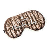 Designer Satin Sleep Mask - Sleep Like a Log