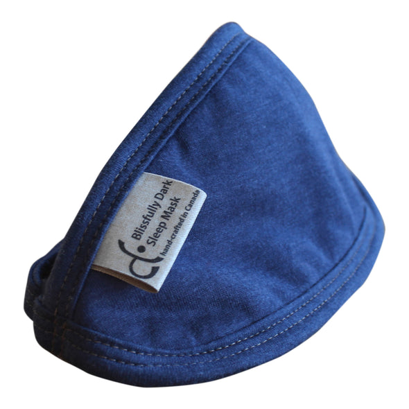 Bamboo Sleep Mask - Blue