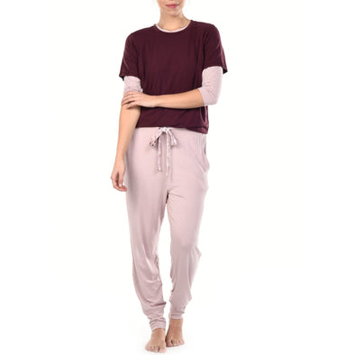 Sleep Tee - Plum