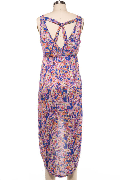 Paisley Printed Susan Tank Dress