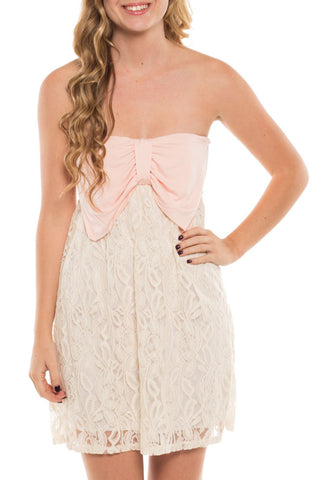 Bow Lace Charlie Dress