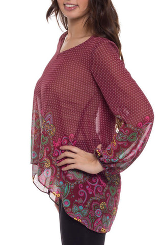 Long Sleeve Angel Tunic