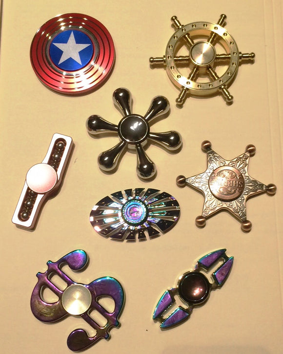 Metal Alloy Fidget Spinners