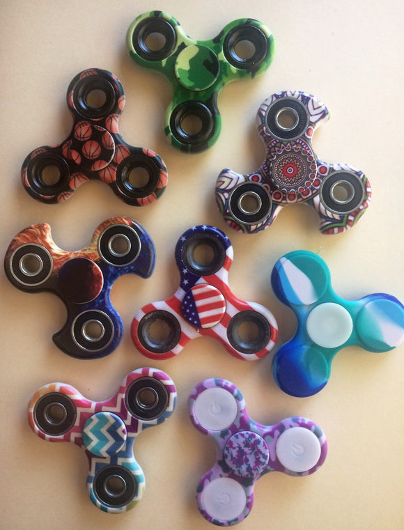 Unique Prints Fidget Spinners