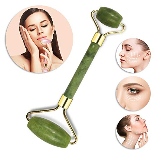 Jade Facial Roller (12 pieces) with Display