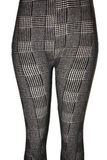 Black & White Checkerboard Leggings