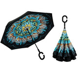Upside Down Inverted Umbrella