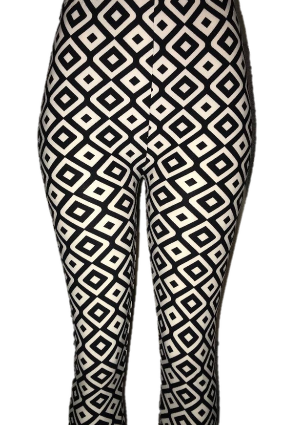 Black & White Illusion Leggings