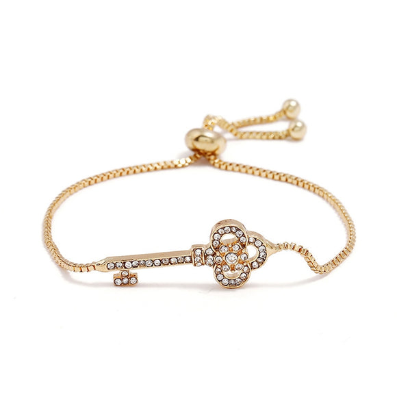 Elegant Key EZ-On & EZ-Off Bracelet - 105