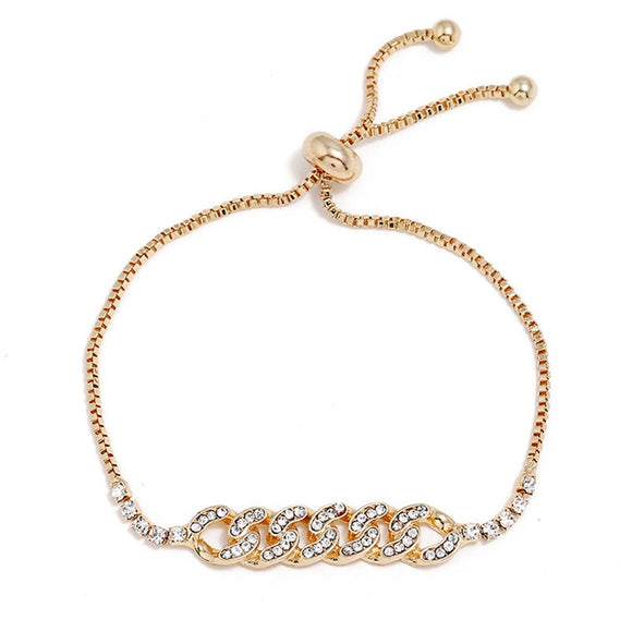 Chain Links EZ-On & EZ-Off Bracelet - 102