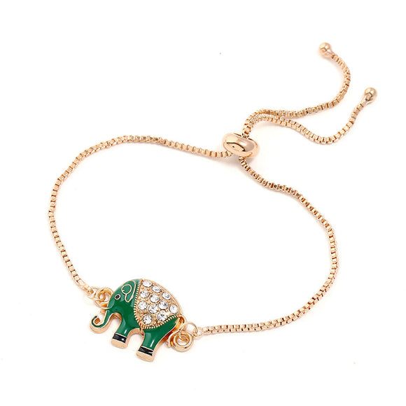 Elephant Charm EZ-On & EZ-Off Bracelet - 115