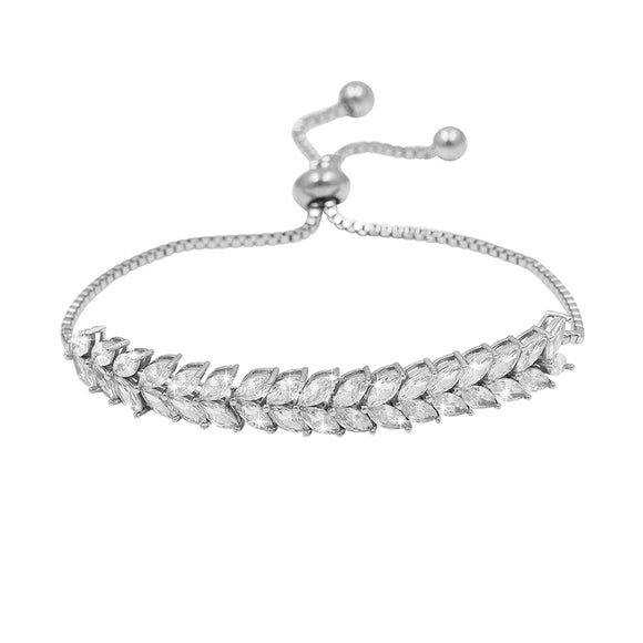 Mutiple Leaves EZ-On & EZ-Off Bracelet - 208