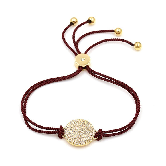 Mosaic with Petite Stones EZ-On & EZ-Off Bracelet - 259