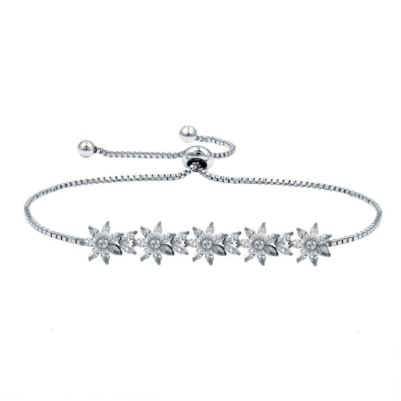 Flowers EZ-On & EZ-Off Bracelet - 273