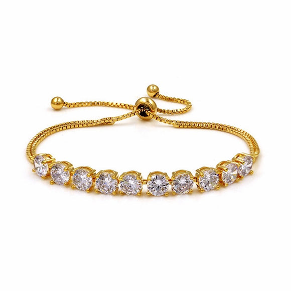 Elegant Tennis EZ-On & EZ-Off Bracelet - 288