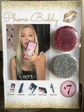 Glitter Phone Buddy (24 pieces, assorted) with Display