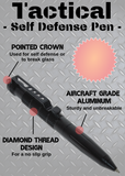 Tactical Self Defense Pen (12 pieces, assorted) with Display