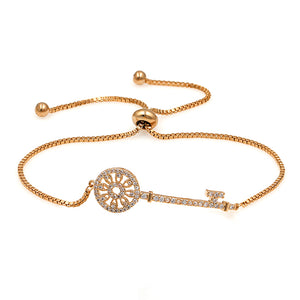Elegant Key EZ-On & EZ-Off Bracelet - 261
