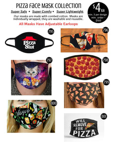 Pizza Face Mask Collection