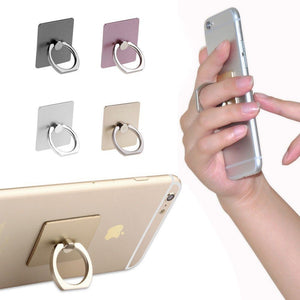 Square Ring Phone Buddy (24 pieces, assorted) with Display