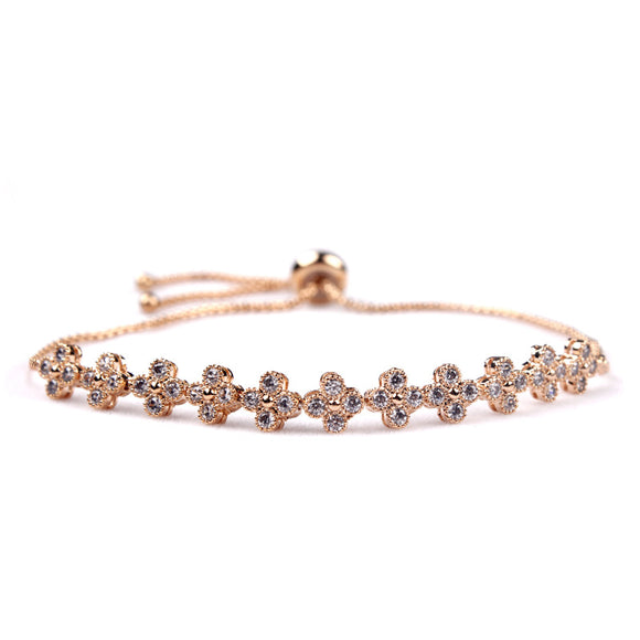 Simple Flowers EZ-On & EZ-Off Bracelet - 205