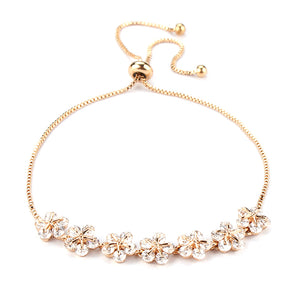 Flower Petals EZ-On & EZ-Off Bracelet - 056