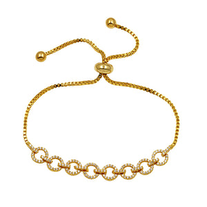Interlocking Chains EZ-On & EZ-Off Bracelet - 243