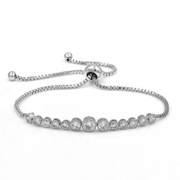 Multi-Stone EZ-On & EZ-Off Bracelet - 267