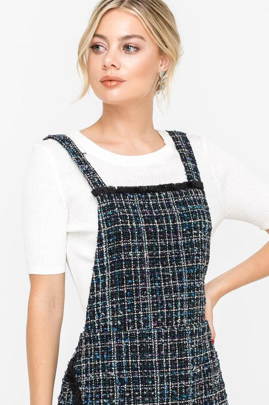 exceptional range of colors bright n colour harmonious colors Tweed Pinafore Dress