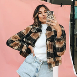 All About Plaid Jacket